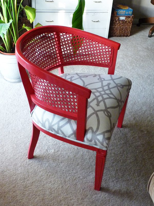Yard sale chairs remade em for marvelous for Furniture yard sale