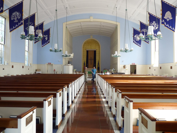 US Coast Guard Academy Memorial Chapel