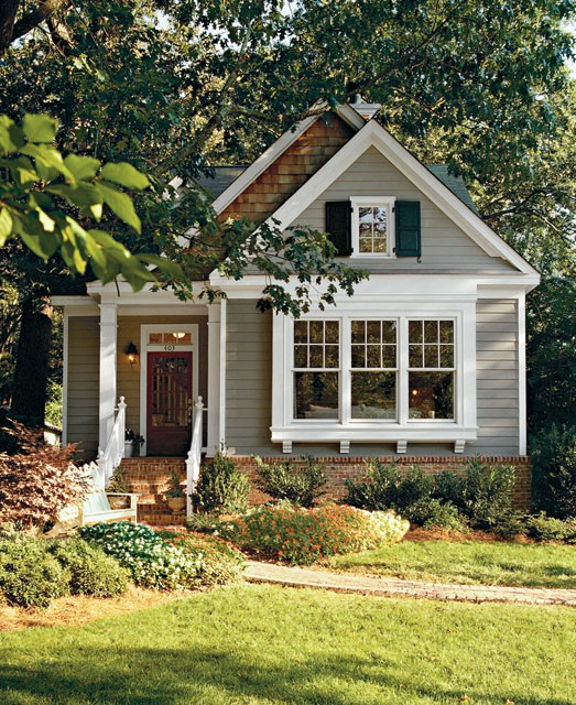 Home Color Ideas Exterior: Adorably Small Houses