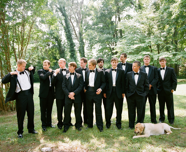 Black Wedding Tuxedo With Bow Tie