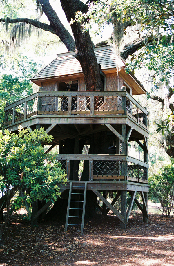 Palmetto Bluff tree house