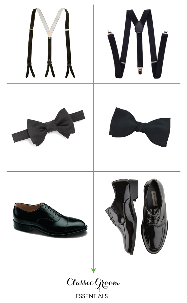 Classic Groom Essentials
