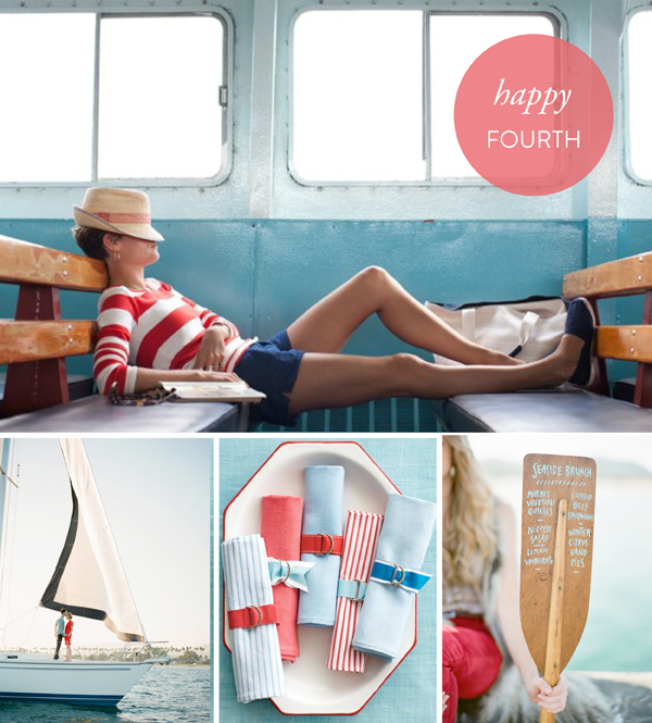 Fourth of July inspiration board
