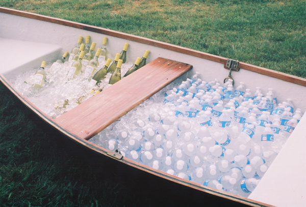 boat to hold drinks