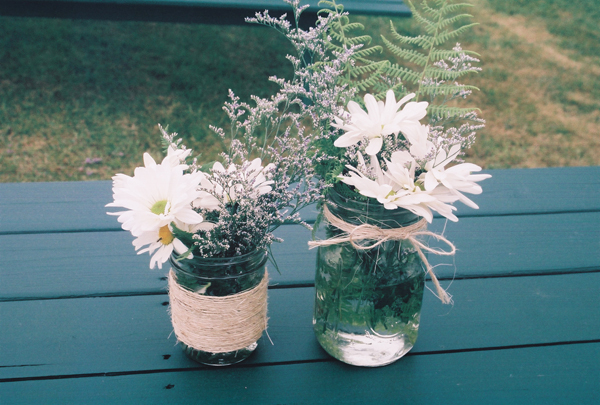 Daisy centerpieces em for marvelous