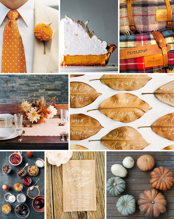 Fall dahlia inspiration board