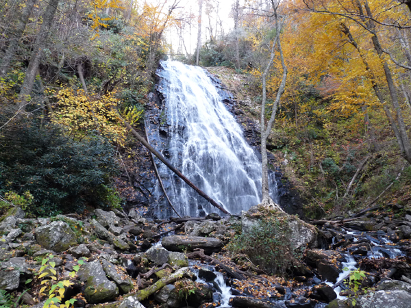 waterfalls in asheville