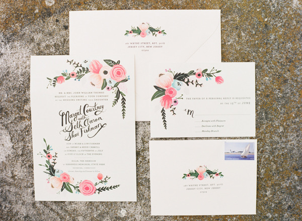 Rifle Paper Co invitation suite