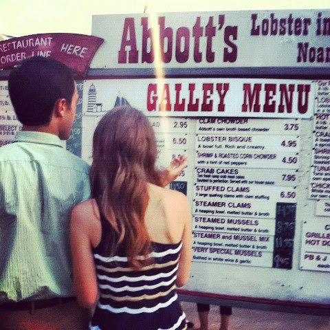Abbott's Menu