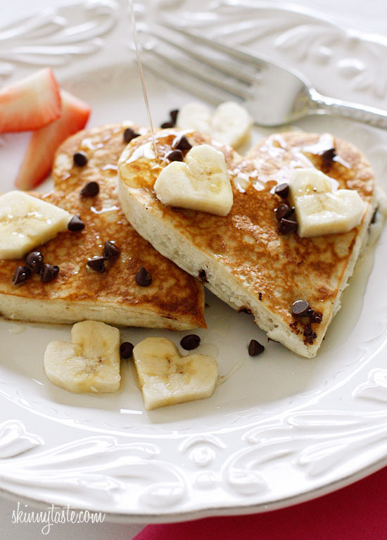 Low-Fat-Banana-Chocolate-Chip-Pancakes
