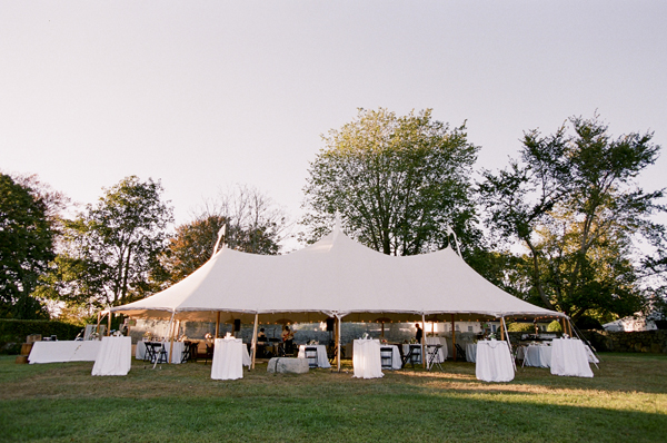 eugene o neill tent wedding