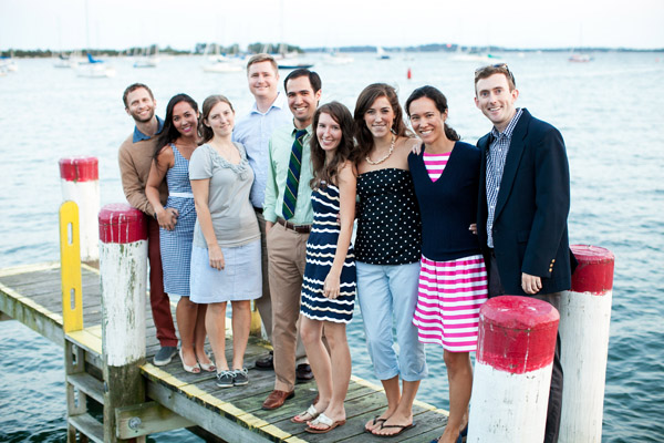 nautical rehearsal dinner