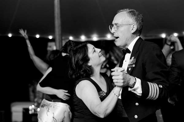 parents dancing