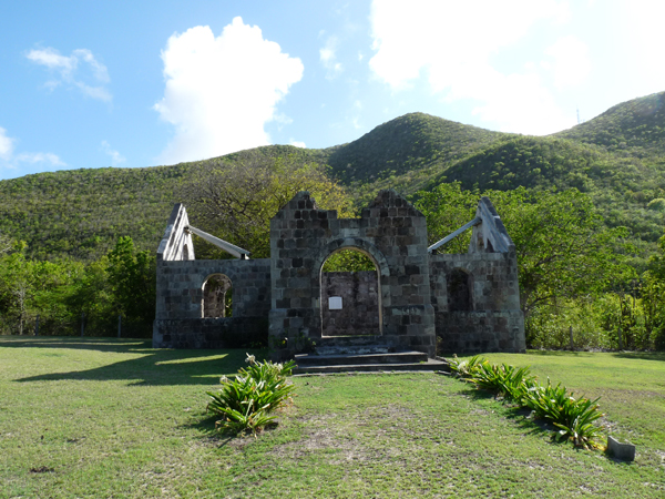 first church in nevis