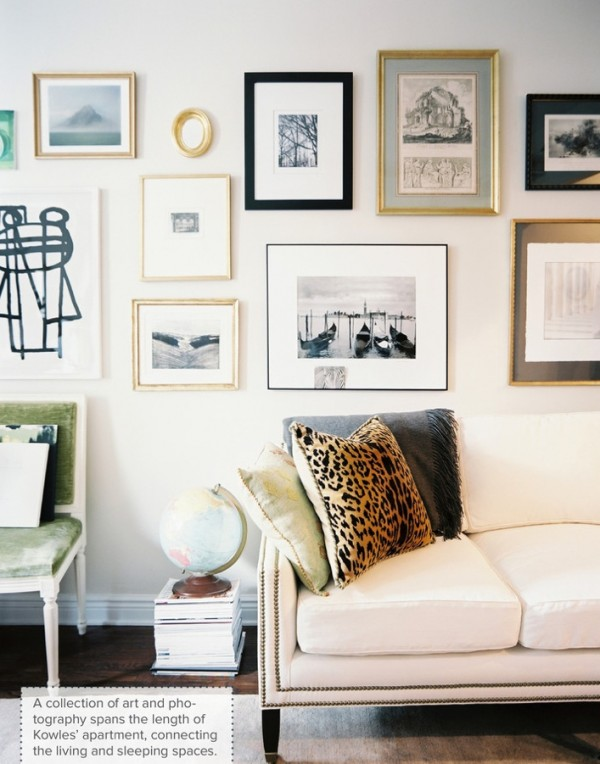 gold-and-black-gallery-wall