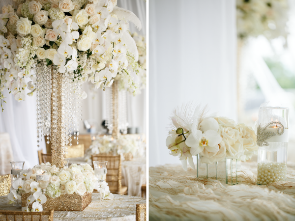 orchid-and-feather-centerpieces
