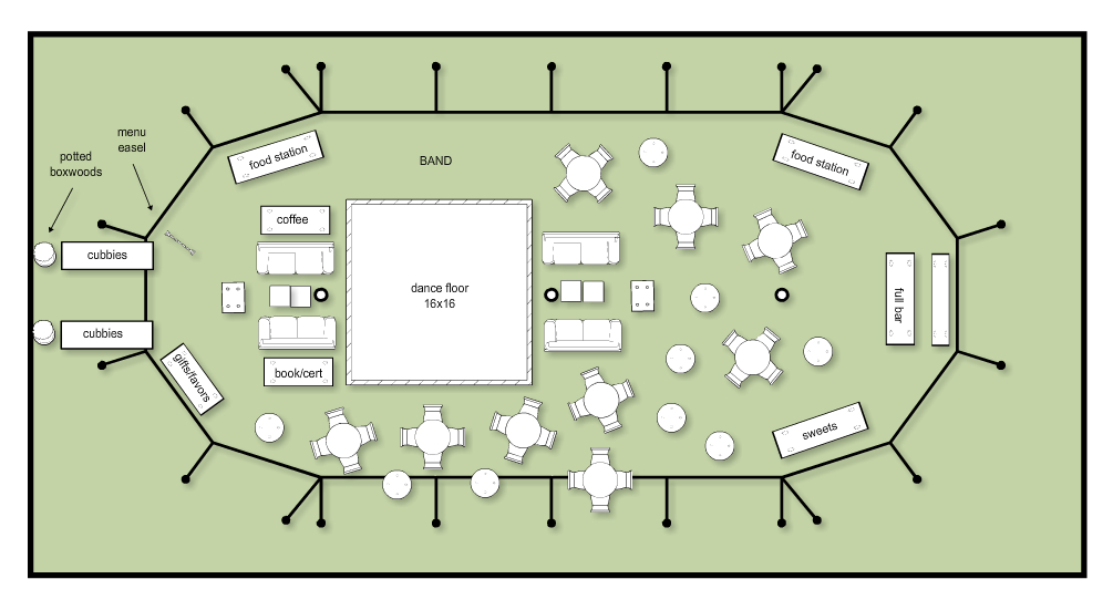 Final tent layout em for marvelous for Wedding tent layout tool