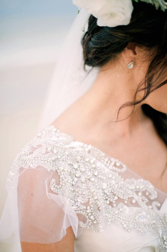 beaded-sleeve-gown