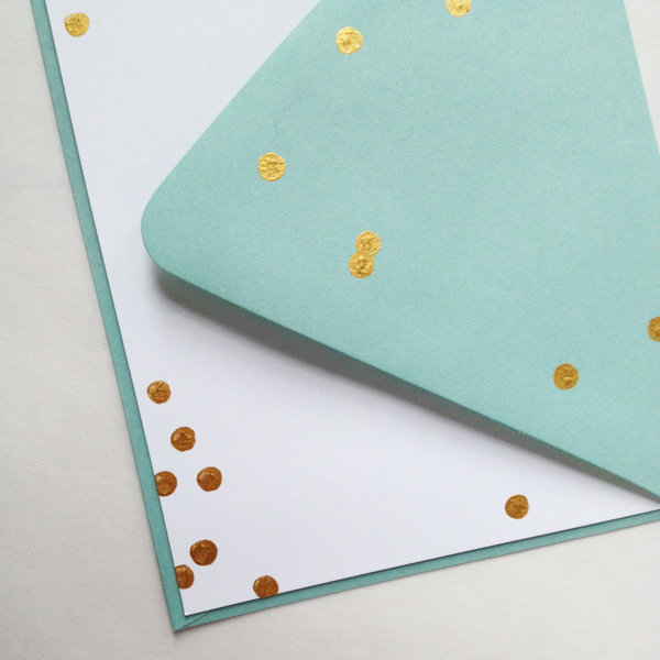 gold-dot-stationery