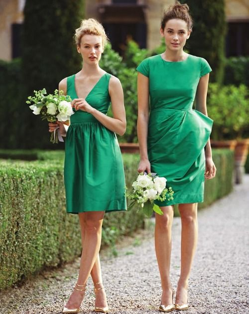 jcrew-green-dresses