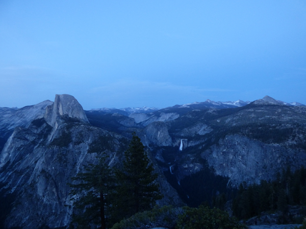 half-dome-waterfall