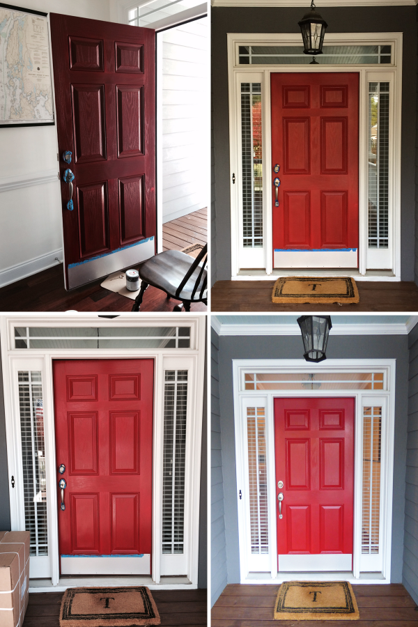 painting-our-front-door-red