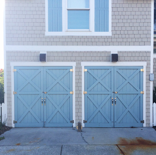 blue-garage-door