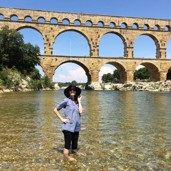 beneath-pont-du-gard