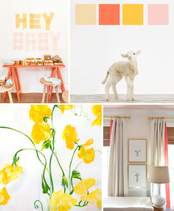 yellow-and-coral-nursery