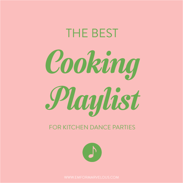 cooking playlist