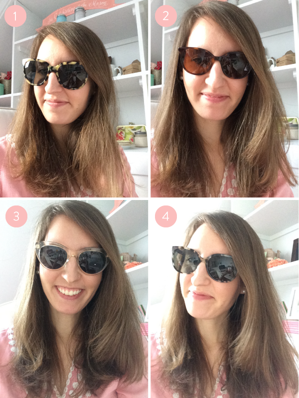 warby parker sunglasses try on
