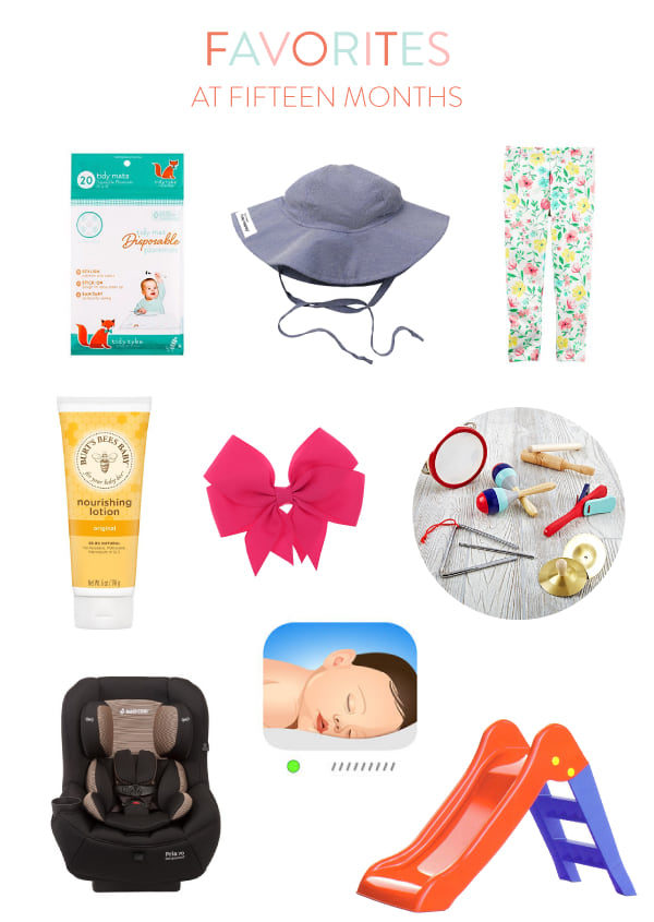 fifteen month baby favorites