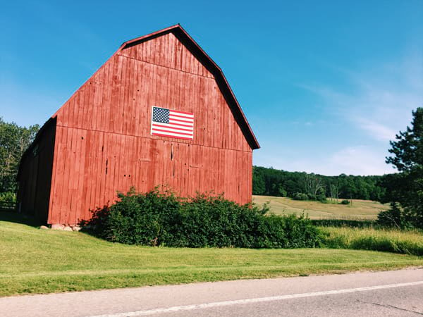 Michigan barn