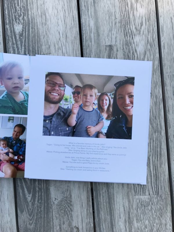 shutterfly layflat pages
